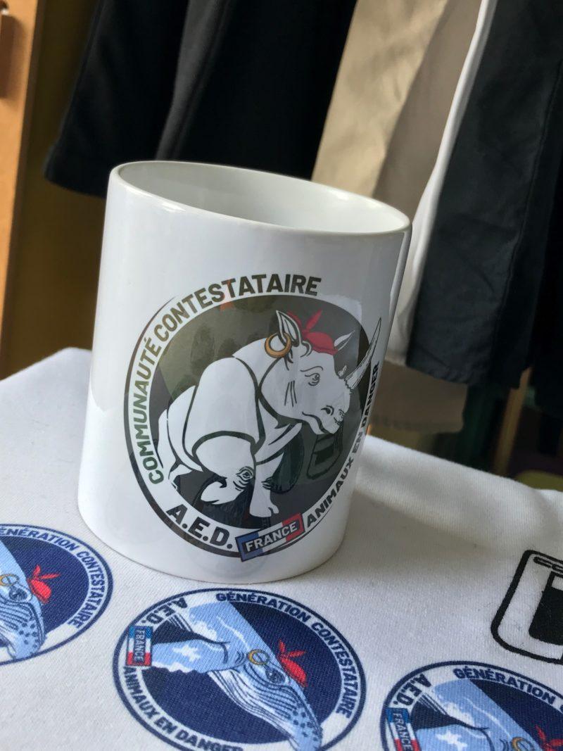 Sublimation Mug Pour la Protection des Animaux